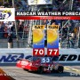 NASCAR WEATHER FORECAST KANSAS