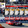 NASCAR KANSAS WEATHER FORECAST