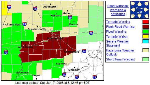 heavy rain storms flood indiana including my hometown